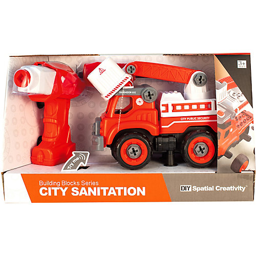 Конструктор QunXing Toys Пожарная машина от QunXing Toys