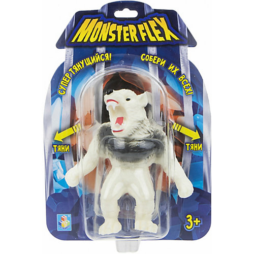 Тянущаяся фигурка 1Toy Monster Flex Арктический оборотень от 1Toy