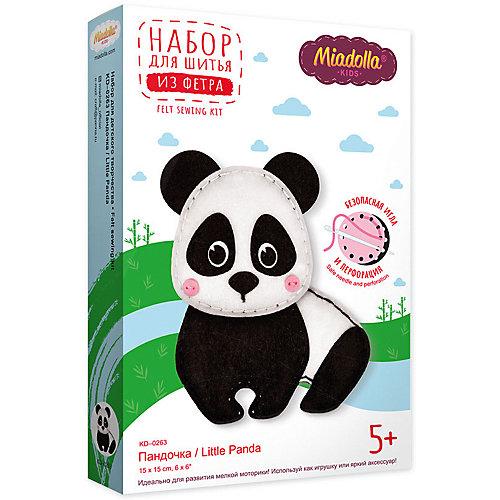 Набор для изготовления игрушки Miadolla Пандочка 15 см от Miadolla