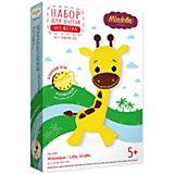 Набор для изготовления игрушки Miadolla Жирафик 21х13 см