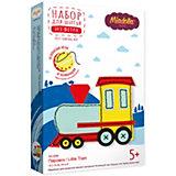 Набор для изготовления игрушки Miadolla Паровоз 12х15 см