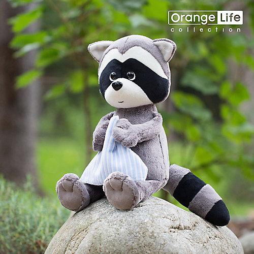 Мягкая игрушка Orange Life Енотик Дэнни с полотенцем,  15 см от Orange