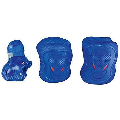 Комплект защитыя MaxCity Melody, размер 27-30 - синий от MaxCity