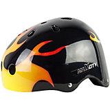 Защитный шлем MaxCity Graffity Flame, размер 50-52