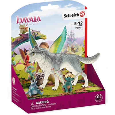 Schleich 70710 bayala: MOVIE Lykos, Nugur & Piuh