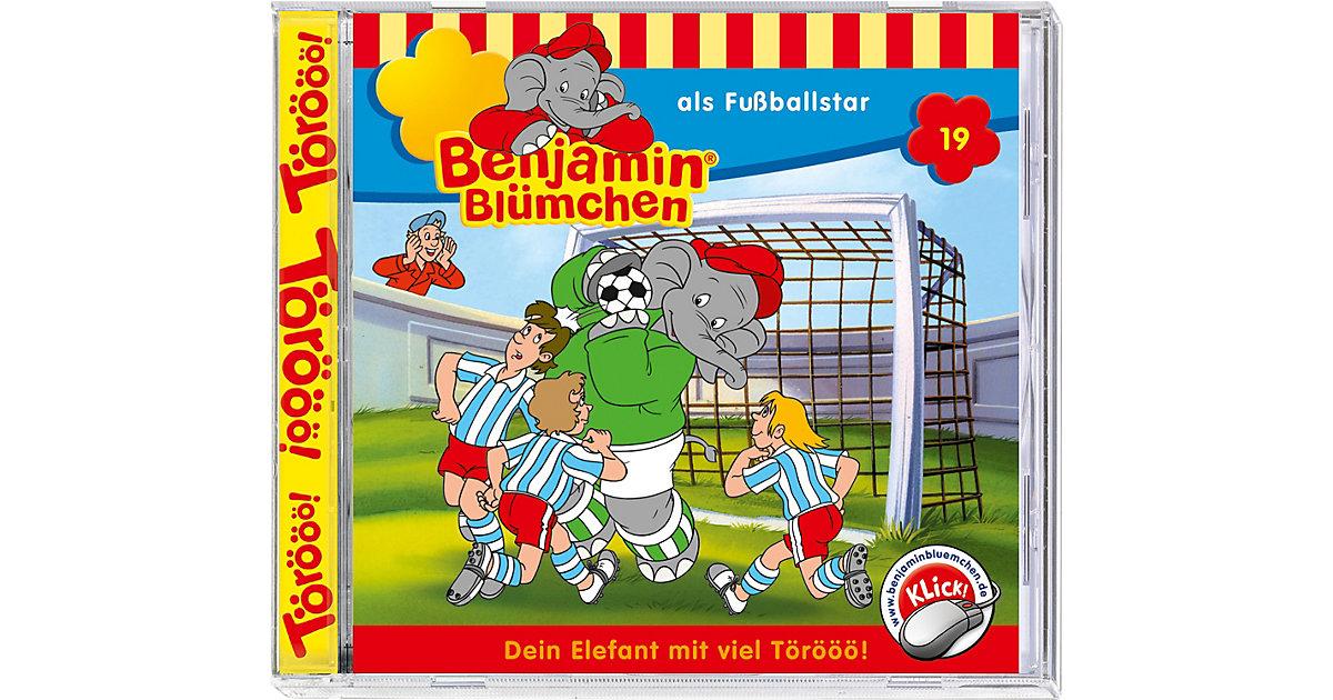 CD Benjamin Blümchen 19 - als Fußballstar