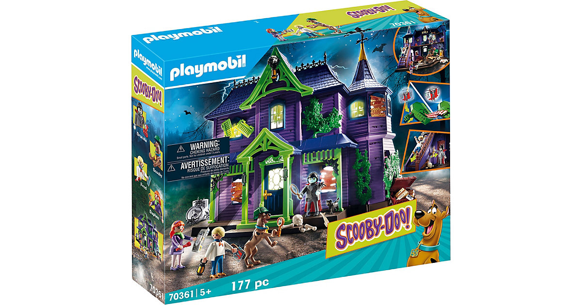 PLAYMOBIL® 70361 SCOOBY-DOO! Abenteuer im Geisterhaus
