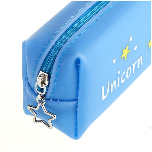 Пенал-косметичка ArtSpace Unicorn blue - синий от ArtSpace