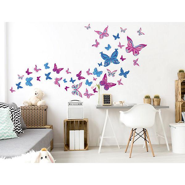 Wandtattoo Set Kinderzimmer Schmetterlinge Dekodino Mytoys