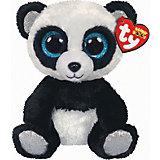 Мягкая игрушка TY Панда Бамбу, 15 см