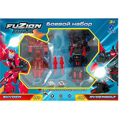 Набор Toy Plus Fuzion Max Skyden и Rydenbolt от Toy Plus
