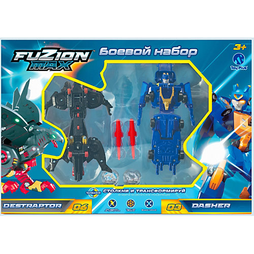 Набор Toy Plus Fuzion Max Destraptor и Dasher от Toy Plus