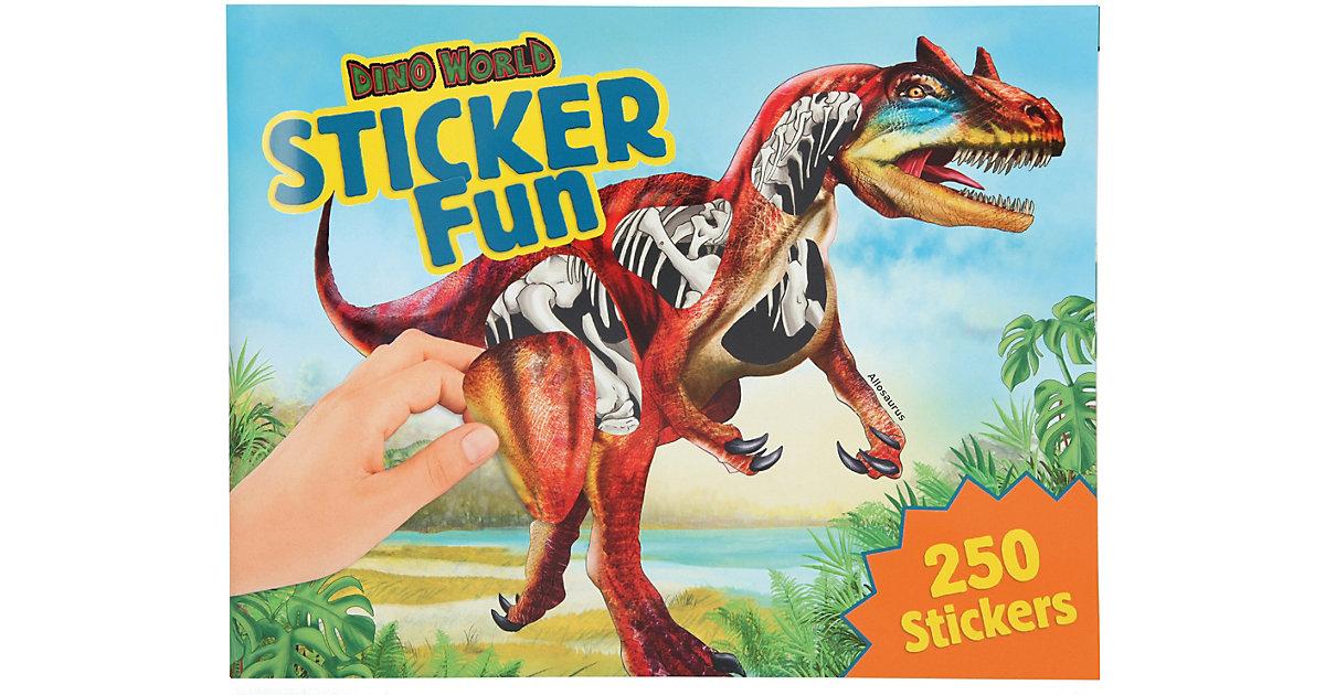 Buch - Malbuch Dino Stickerfun mit Stickerbogen