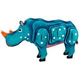"""3D пазл-раскраска """"Цветной"""" Носорог"""