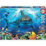 Пазл Educa Большая белая акула, 500 элементов