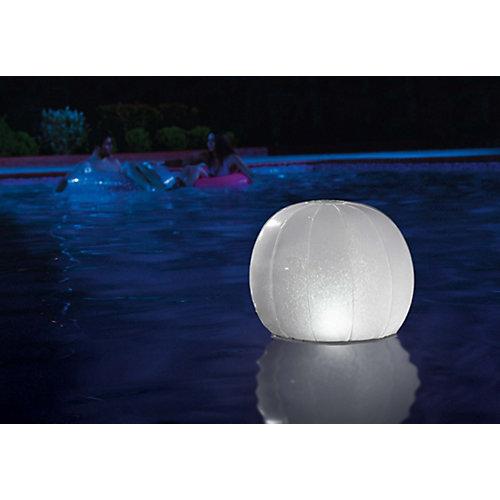 Надувной мяч Intex с иллюминацией, 23х22 см, белый от Intex