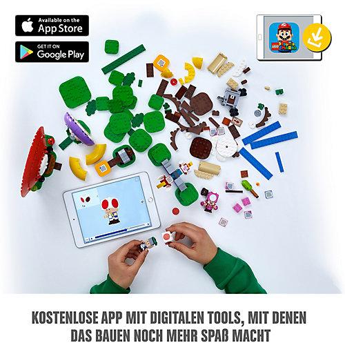 Конструктор LEGO Super Mario Погоня за сокровищами Тоада. Дополнительный набор 71368, 464 элемента от LEGO