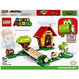 Конструктор LEGO Super Mario Дом Марио и Йоши. Дополнительный набор 71367, 205 элементов