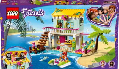 LEGO® Friends 41428 Strandhaus mit Tretboot, LEGO Friends