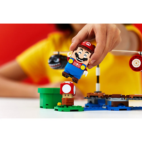 Конструктор LEGO Super Mario Огневой налёт Билла-банзай. Дополнительный набор 71366, 132 элемента от LEGO