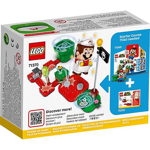 Конструктор LEGO Super Mario Марио-пожарный. Набор усилений 71370, 11 элементов от LEGO