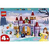 Конструктор LEGO Disney Princess 43180: Зимний праздник в замке Белль