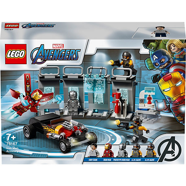 LEGO® Marvel SuperHeroes™ 76167 Iron Mans Arsenal