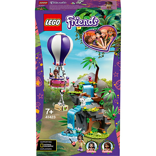 Конструктор LEGO Friends 41423: Джунгли: спасение тигра на воздушном шаре от LEGO