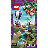 Конструктор LEGO Friends 41423: Джунгли: спасение тигра на воздушном шаре