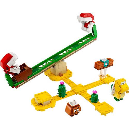 Конструктор LEGO Super Mario Мощная атака Растения-пираньи. Дополнительный набор 71365, 217 элементов от LEGO
