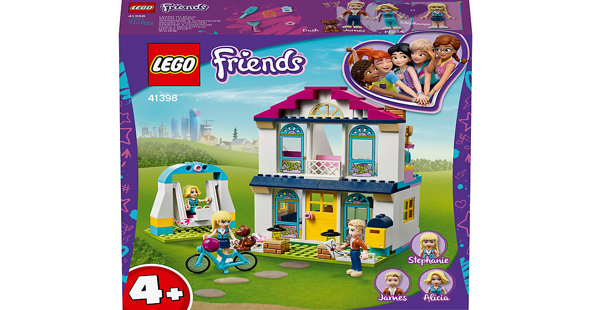 LEGO® Friends 41398 4+ – Stephanies Familienhaus