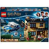 Конструктор LEGO Harry Potter 75968: Тисовая улица, дом 4