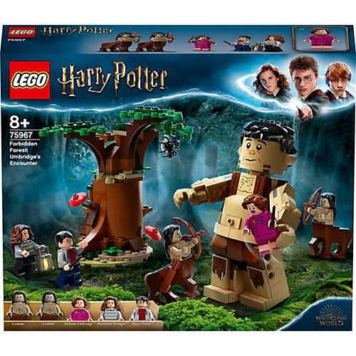 Конструктор LEGO Harry Potter 75967: Запретный лес: Грохх и Долорес Амбридж от LEGO