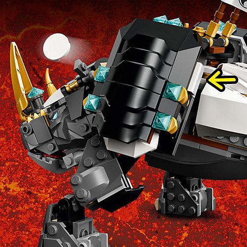 Конструктор LEGO Ninjago 71719 Бронированный носорог Зейна от LEGO