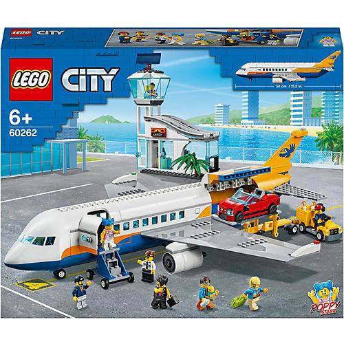 Конструктор LEGO City Airport Пассажирский самолёт 60262, 669 элементов от LEGO