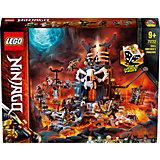 Конструктор LEGO NINJAGO Подземелье колдуна-скелета 71722, 1171 элемент