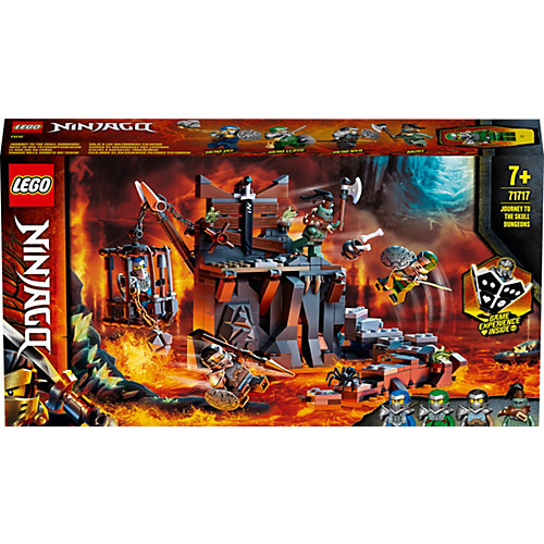 Конструктор LEGO Ninjago 71717: Путешествие в Подземелье черепа от LEGO