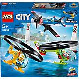 Конструктор LEGO City Airport Воздушная гонка 60260, 140 элементов