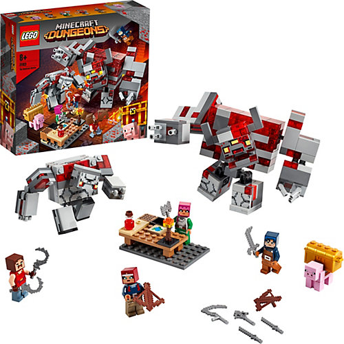 Конструктор LEGO Minecraft 21163: Битва за красную пыль от LEGO