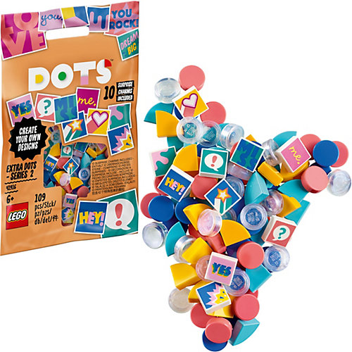 Конструктор LEGO Dots 41916: Тайлы LEGO® DOTS серия 2 от LEGO