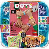 Конструктор LEGO Dots 41913: Большой набор для создания браслетов