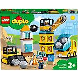 Конструктор LEGO DUPLO Town 10932: Шаровой таран