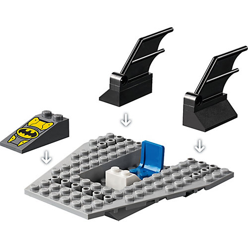 Конструктор LEGO Super Heroes 76158: Погоня за Пингвином на Бэткатере от LEGO
