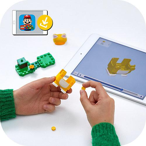 Конструктор LEGO Super Mario Марио-кот. Набор усилений 71372, 11 элементов от LEGO