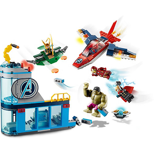 Конструктор LEGO Super Heroes 76152: Мстители: гнев Локи от LEGO
