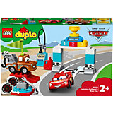 Конструктор LEGO DUPLO Cars 10924: Гонки Молнии МакКуина
