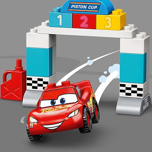 Конструктор LEGO DUPLO Cars 10924: Гонки Молнии МакКуина от LEGO