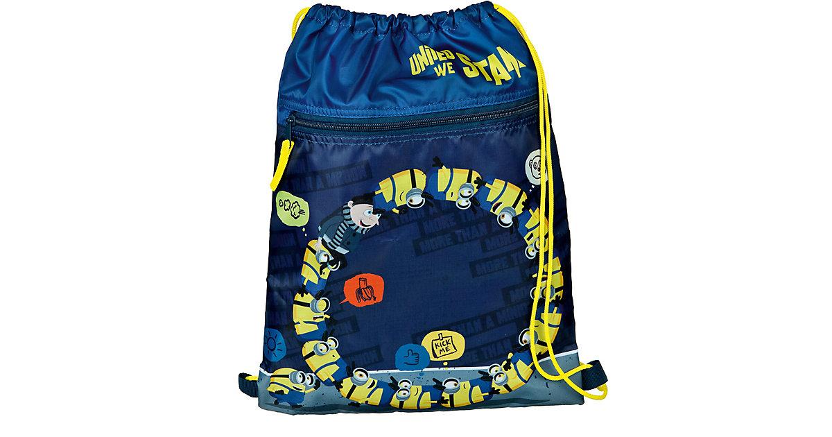 Sportbeutel/Matchsack Minions blau