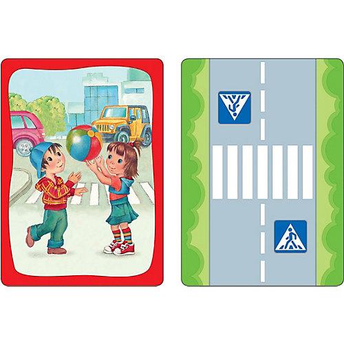 Развивающие карточки Безопасность на дороге от Росмэн