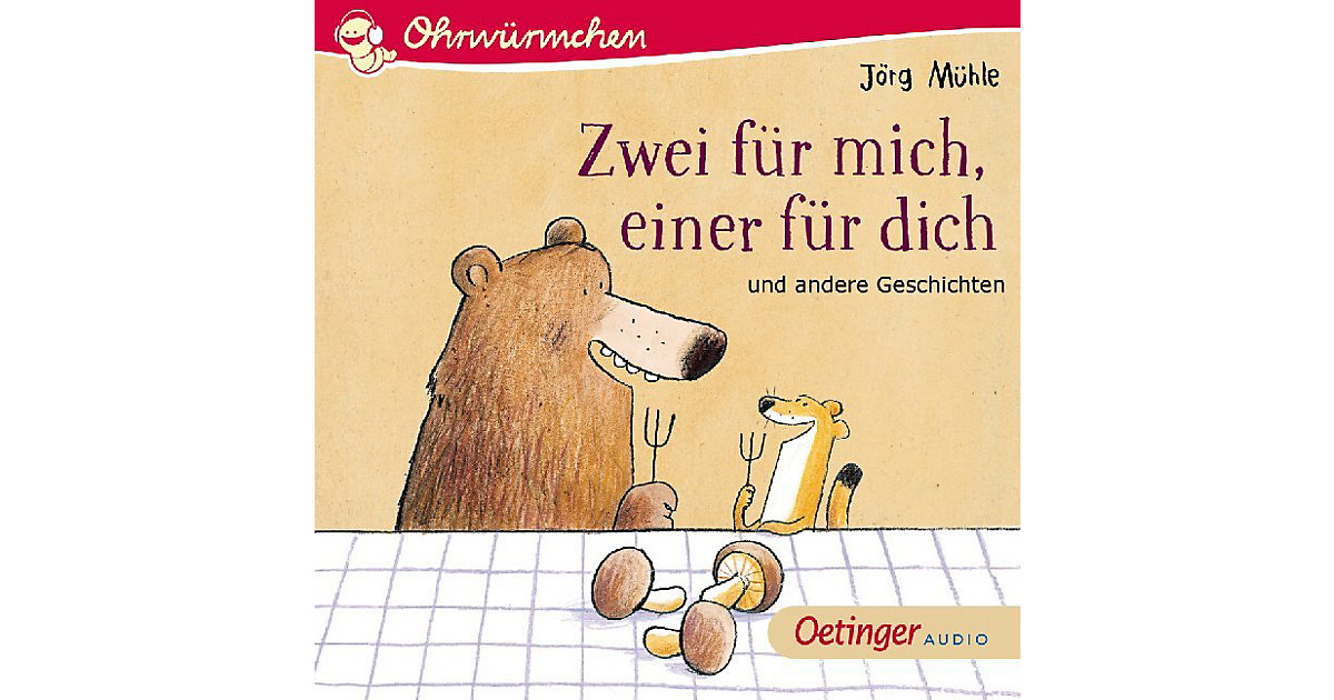 Zwei mich, einer dich, 1 Audio-CD Hörbuch  Kinder